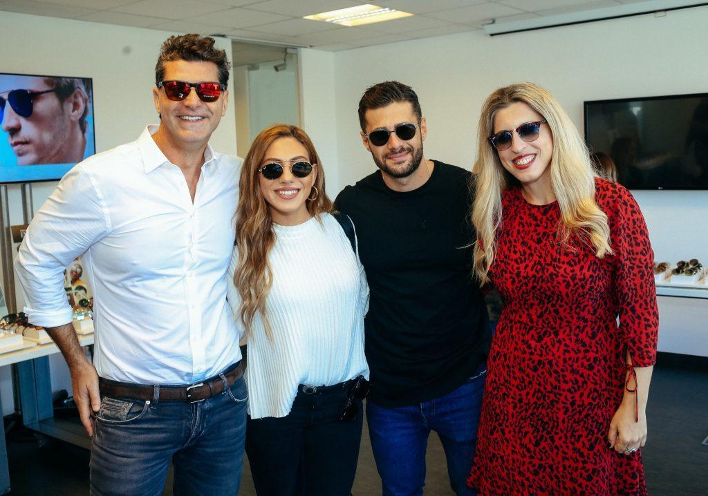 Δοκίμασαν γυαλιά - Έλληνες celebs στην παρουσίαση των νέων συλλογών της Luxottica