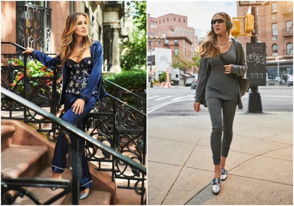 Sarah Jessica Parker loves Intimissimi - Δείτε τα different looks της!