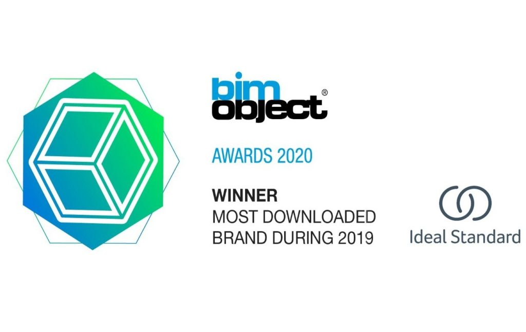 Most Downloaded Brand η Ideal Standard στα BIMobject Awards 2020