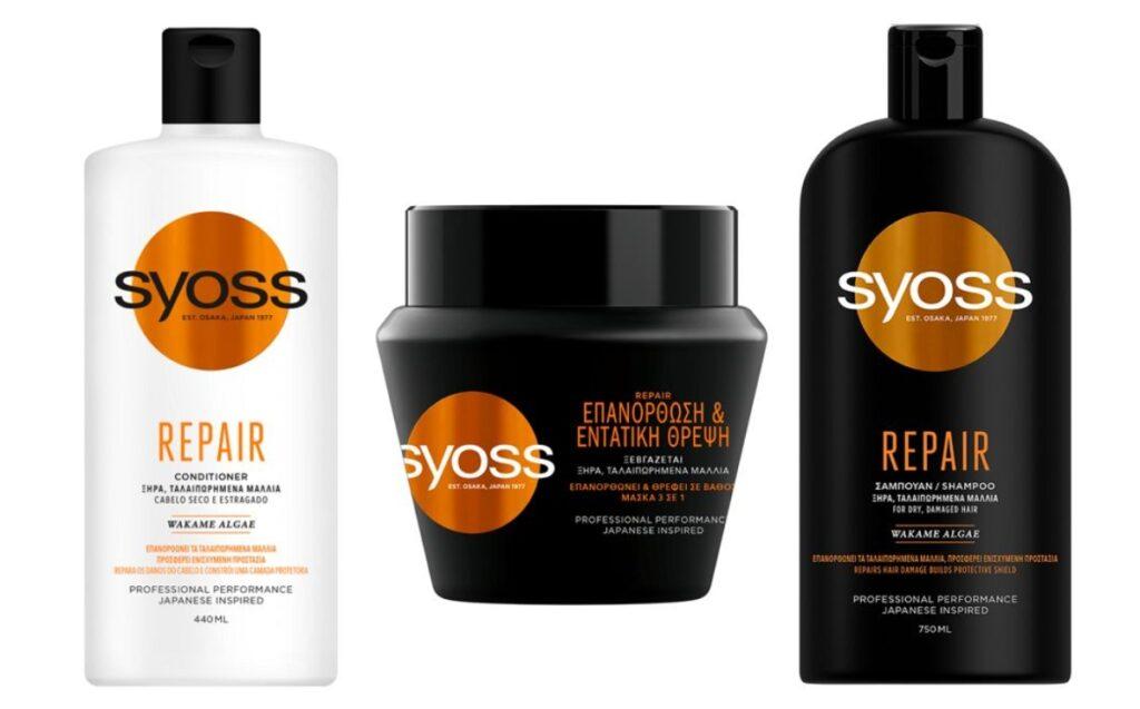 Ανανεωμένο Syoss - 10 χρόνια επαγγελματική περιποίηση στα μαλλιά!